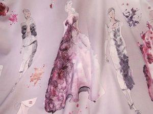Абсолютный хит сезона - пальтовая шерсть с купонным fashion принтом. Ярмарка Мастеров - ручная работа, handmade.