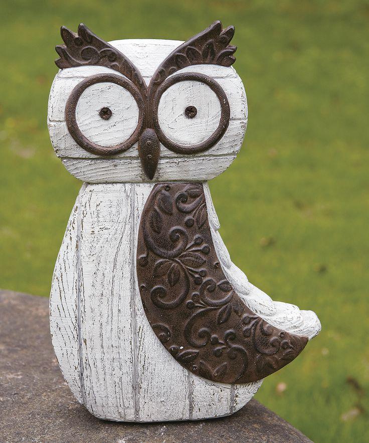 cute garden owl