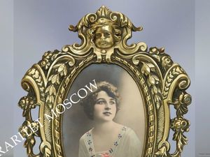 Раритетище Рамка ангел бронза Depose 19век 56. Ярмарка Мастеров - ручная работа, handmade.