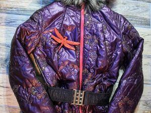 Женский зимний комбинезон своими руками. Ярмарка Мастеров - ручная работа, handmade.