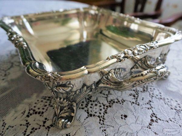 Антикварное английское блюдо с подогревом. Шеффилд 1844 г. | Ярмарка Мастеров - ручная работа, handmade