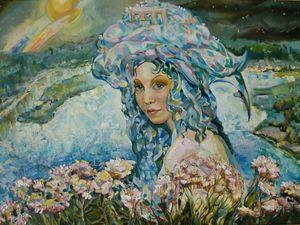 """Картина маслом """"Моя Волга. Вечер"""" по сниженной цене). Ярмарка Мастеров - ручная работа, handmade."""