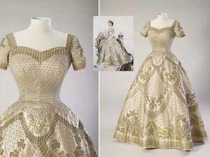 Вышивка на коронационном платье Елизаветы II. Ярмарка Мастеров - ручная работа, handmade.
