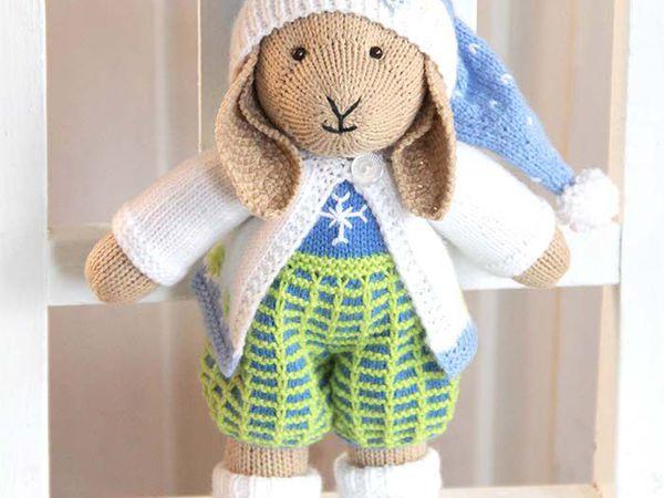 Зайчонок Снежок участвует в конкурсе! | Ярмарка Мастеров - ручная работа, handmade