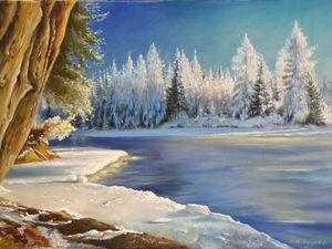 Пишем пейзаж