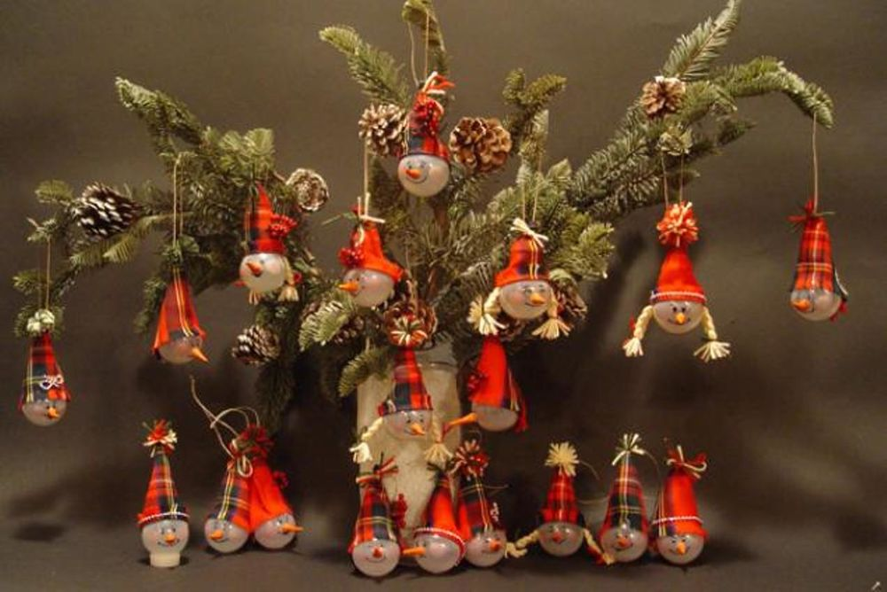 Christmas Decorations from Recycled Materials, фото № 2