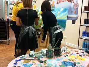 Мастер-класс по живописи | Ярмарка Мастеров - ручная работа, handmade