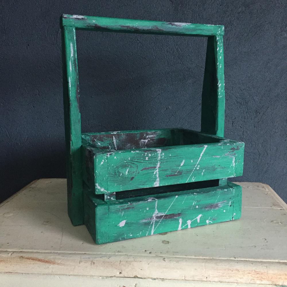 покраска, ящик, поднос с бортиками, круглый поднос, как красить дерево, брашировка