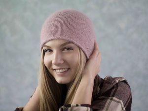 Снижение цен на шапочки из Ангоры | Ярмарка Мастеров - ручная работа, handmade