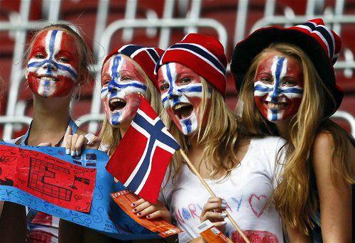 о норвежцах