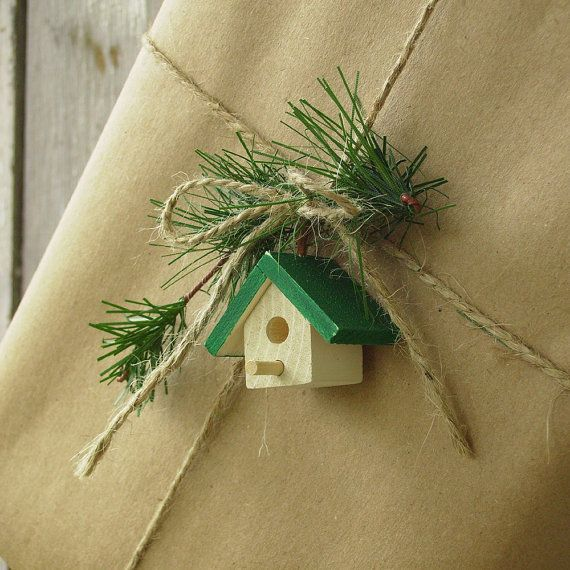 Christmas gift wrapping idea.