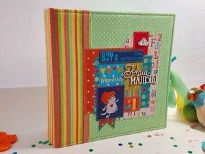 Детский фотоальбом для малыша. Ярмарка Мастеров - ручная работа, handmade.