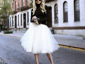 Модный приговор: юбка-пачка — символ легкости и романтичности. Ярмарка Мастеров - ручная работа, handmade.