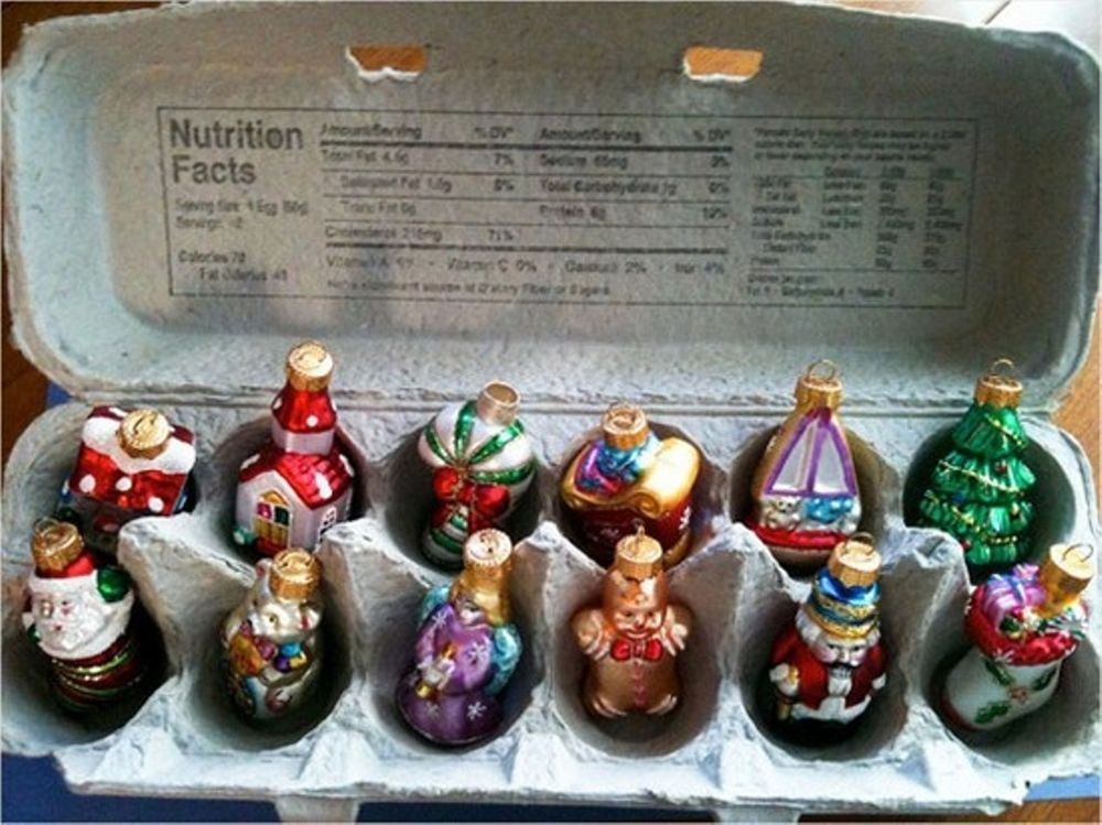 Christmas Decorations from Recycled Materials, фото № 26