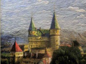 Пейзажи, вышитые гладью, от криворожского мастера Юрия Смуковича. Ярмарка Мастеров - ручная работа, handmade.