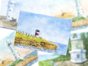Розыгрыш авторских открыток!. Ярмарка Мастеров - ручная работа, handmade.