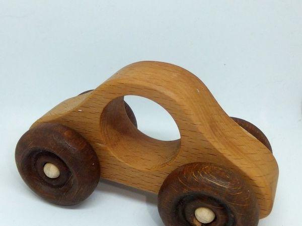 Новая деревянная машинка Копейка от Лавки Грызунок уже в продаже   Ярмарка Мастеров - ручная работа, handmade