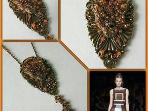Анонс! Подвеска на цепочке Леопард от Olga Gardenia. Ярмарка Мастеров - ручная работа, handmade.