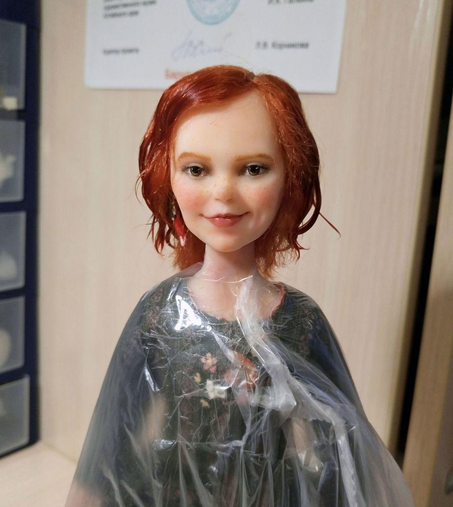 лиса алиса, куколка с эмоциями