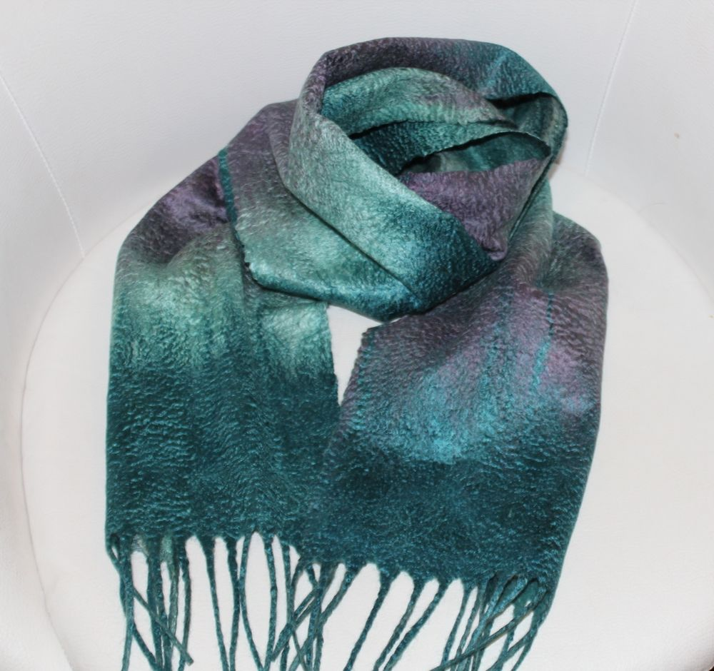 мк по валянию шарфа