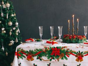 Поступление Новогодних скатертей , выбирайте подарки!!!!. Ярмарка Мастеров - ручная работа, handmade.