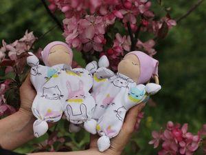 Вальдорфская кукла-бабочка своими руками. Часть 2 | Ярмарка Мастеров - ручная работа, handmade