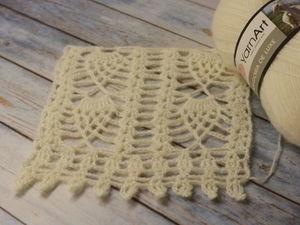 Angora de Luxe от Yarn Art. Вяжу образцы и эксперементирую. Ярмарка Мастеров - ручная работа, handmade.