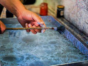 Знакомимся с эбру. Турецкое искусство рисования на «воде» и его разновидности. Ярмарка Мастеров - ручная работа, handmade.