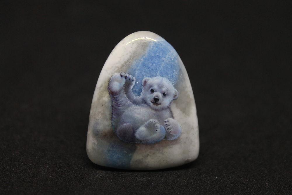 унакит, роспись по камню