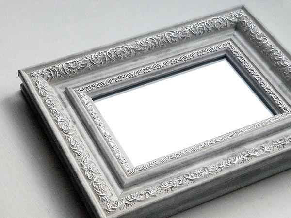 Зеркальце Морозные узоры. Новая коллекция. | Ярмарка Мастеров - ручная работа, handmade