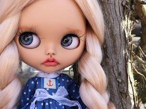 Chloe. New Girl. Custom Blythe. Ярмарка Мастеров - ручная работа, handmade.