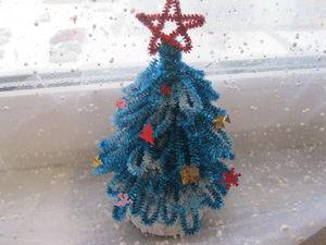 Лесная красавица из новогодней мишуры: мастер-класс. Ярмарка Мастеров - ручная работа, handmade.