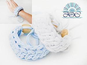 10 Minutes DIY: Crocheting a Unique Bracelet. Livemaster - handmade