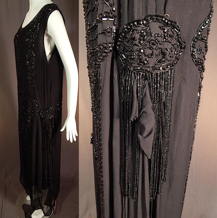 платье вечернее, бахрома, история моды
