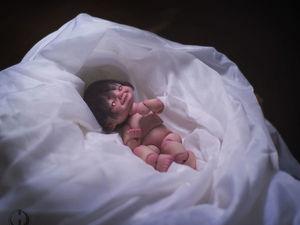 Шарнирный малыш кицунэ. Ярмарка Мастеров - ручная работа, handmade.
