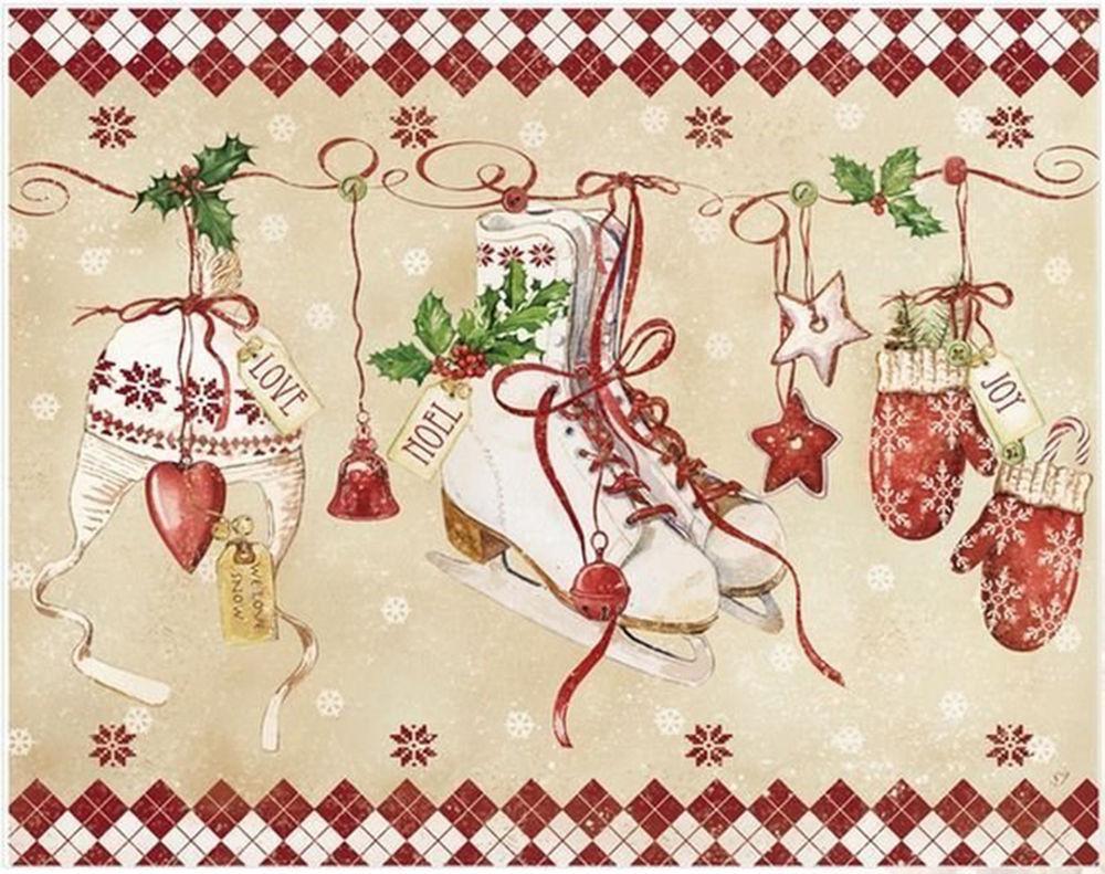 Картинки скрап новогодние, открытки новым годом