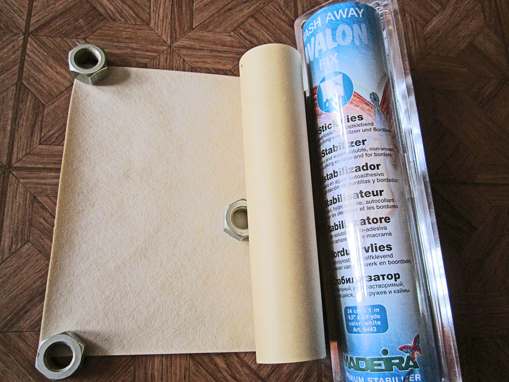 Стабилизаторы adeira для шитья и вышивки, фото № 2