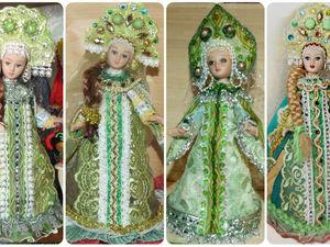 Моя Царевна Лягушка (Василиса Прекрасная) — фарфоровая кукла 20 см. Ярмарка Мастеров - ручная работа, handmade.
