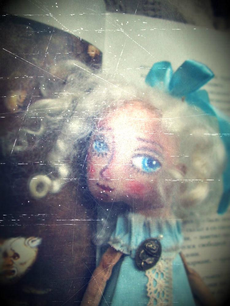 кукла ручной работы, фото, тизер