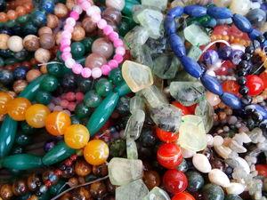 Аукцион на бусины и подвески из натуральных камней!. Ярмарка Мастеров - ручная работа, handmade.