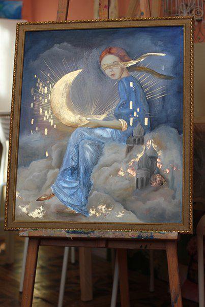 Курс Поталевая живопись: мистическое сияние Вашего интерьера, фото № 8