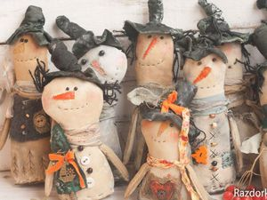 Кофейно-снежная армия | Ярмарка Мастеров - ручная работа, handmade