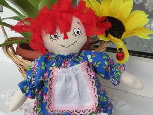 Шьем куклу Реггеди Энн. Ярмарка Мастеров - ручная работа, handmade.