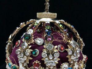 Franch crown Burbon | Ярмарка Мастеров - ручная работа, handmade