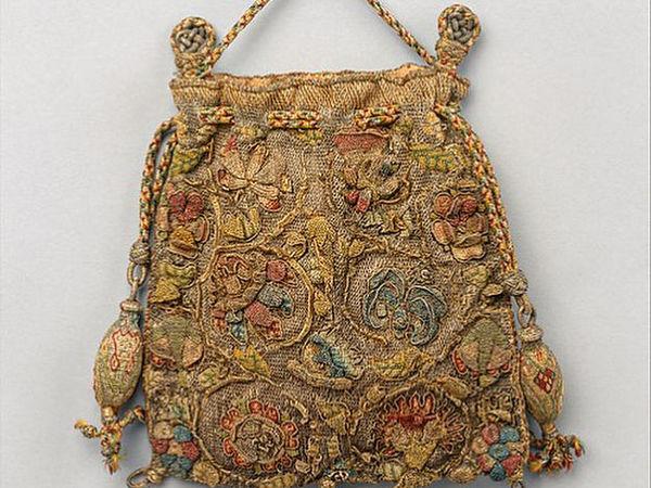 Ароматические сумочки 16-17 веков