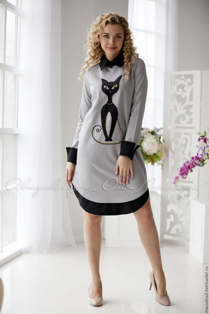 Аукцион на трикотажное платьице с аппликацией!!!Старт 1000 рублей !!!, фото № 1