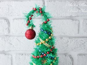 Делаем новогоднюю елочку из подручных средств. Ярмарка Мастеров - ручная работа, handmade.