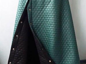 Дополнительные фото к новой двухсторонней юбке из стежки.. Ярмарка Мастеров - ручная работа, handmade.