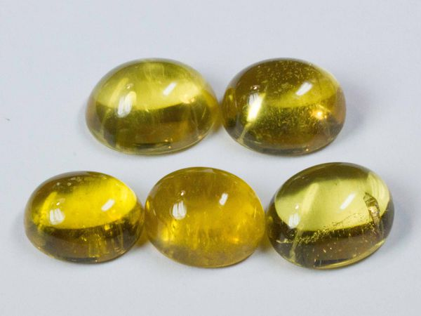 Бериллы желтые 5 лотов   Ярмарка Мастеров - ручная работа, handmade