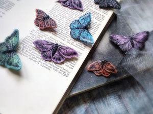Весны вам в ленту! Броши мотыльки и бабочки. Ярмарка Мастеров - ручная работа, handmade.